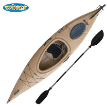 3.44mtrs Plastic Wood-Grain Single Sit in Touring Kayak